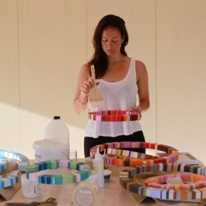 Read about artist Annie Smits Sandano's new direction with her art