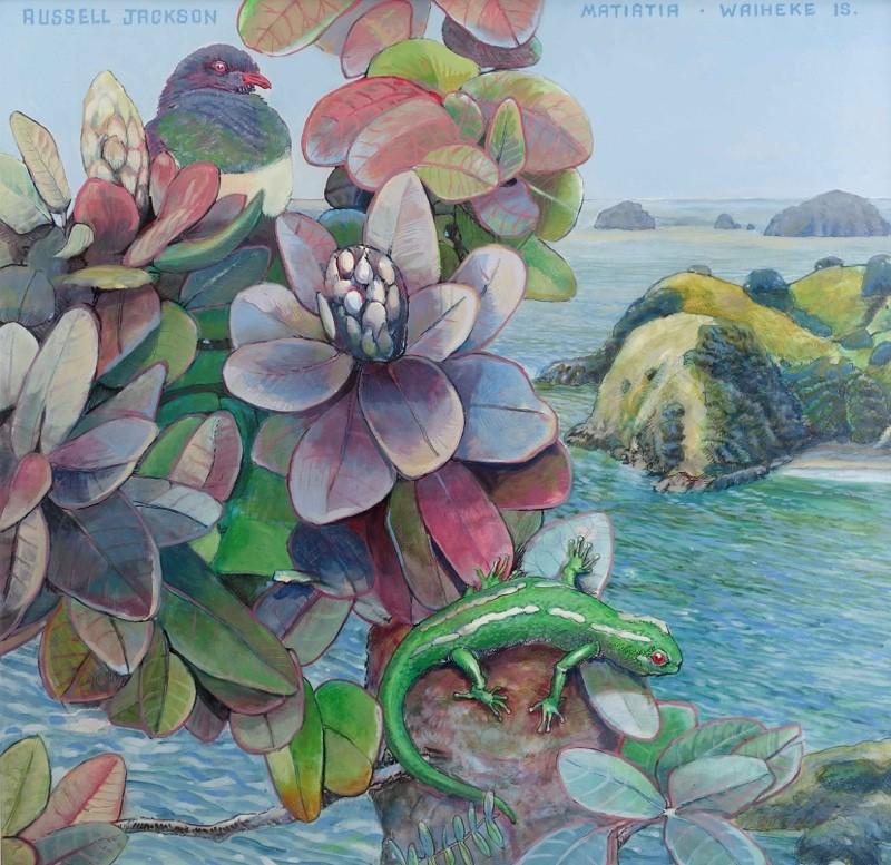 Parnell Gallery Auckland Artwork for sale Matiatia - Waiheke Island Russell Jackson