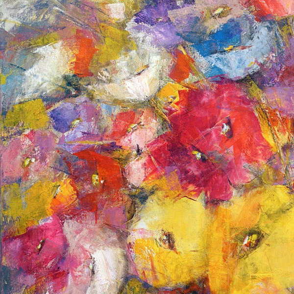 Dalene Meiring creates vibrant original oil paintings for sale at Parnell Gallery Auckland New Zealand