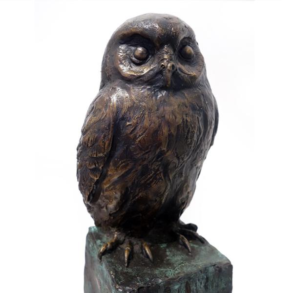 Parnell Gallery Auckland Bronze Sculpture for sale Ruru Gerard McCabe