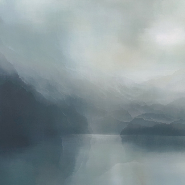 Parnell Gallery Auckland Artwork for sale Fiordland Glow by Greer Clayton
