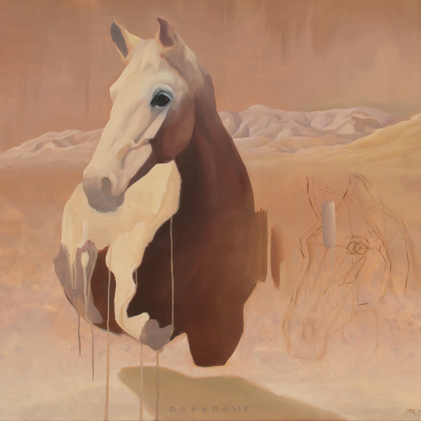 oe Helmore contemporary horse painting Parnell Gallery NZ