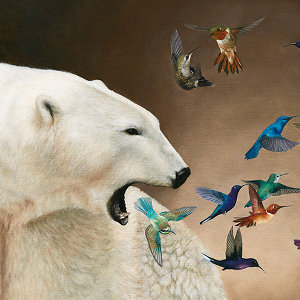 Lucy Eglington is a New Zealand based realist painter of animals originally from the United Kingdom