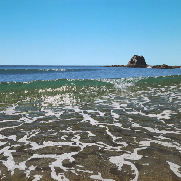 Matt Payne is a photorealist landscape painter specialising in water and beachside scenes