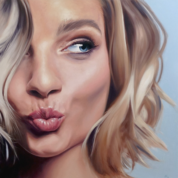 Parnell Gallery Auckland Artwork for sale Cheeky by Stephen Martyn Welch