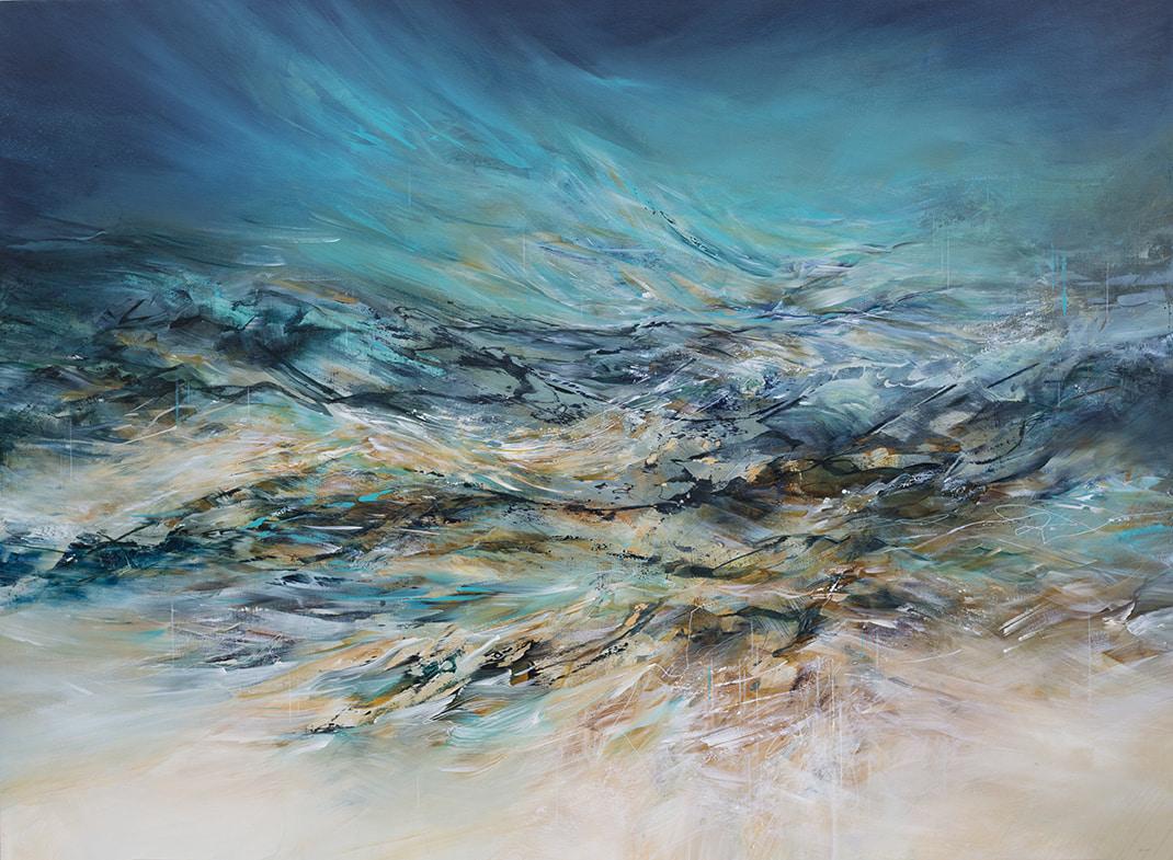 NZ artist Tim Jones painting