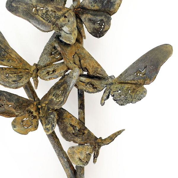 You give me butterflies Bronze sculpture by Simon Max Bannister