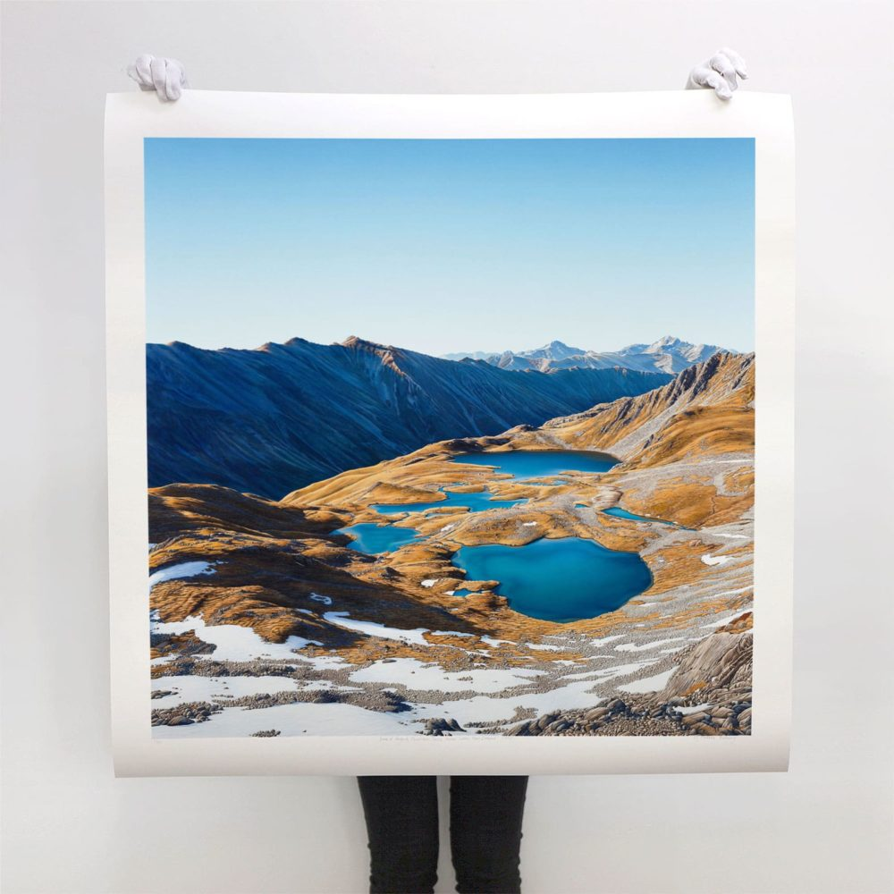 Back of Beyond Large Size Limited Edition Print for sale by Michelle Bellamy